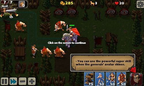 Screenshots von Empire defense 2 für Android-Tablet, Smartphone.