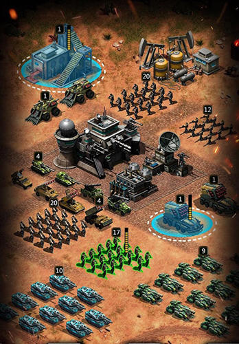 Empire strike: Modern warlords screenshot 2