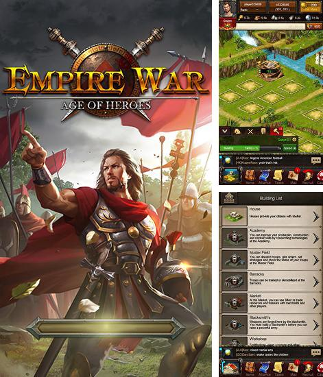 In addition to the game Age of Empire for Android phones and tablets, you can also download Empire war: Age of heroes for free.