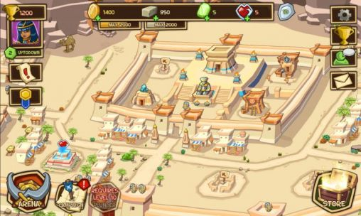 Jogue Empires of sand para Android. Jogo Empires of sand para download gratuito.