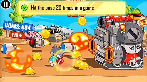 Screenshots von Endless boss fight für Android-Tablet, Smartphone.