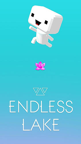 Endless lake poster