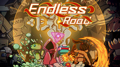 Endless road poster