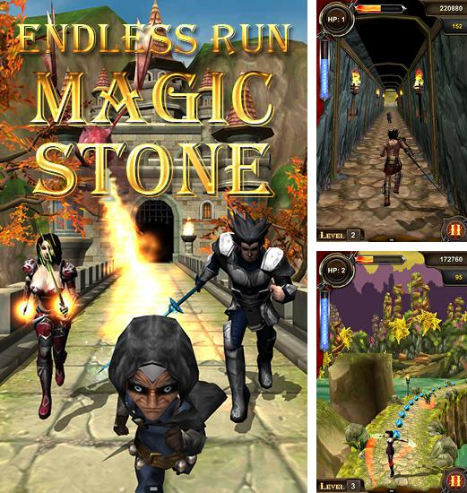 Endless run: Magic stone