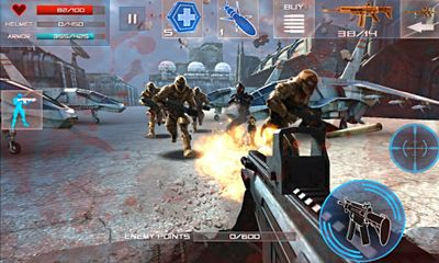 Screenshots do Enemy Strike - Perigoso para tablet e celular Android.