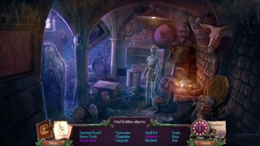 Screenshots von Enigmatis 2: The mists of Ravenwood für Android-Tablet, Smartphone.