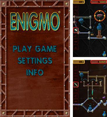In addition to the game Fling a Thing for Android phones and tablets, you can also download Enigmo for free.