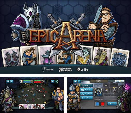 In addition to the game King's Bounty Legions for Android phones and tablets, you can also download Epic arena for free.