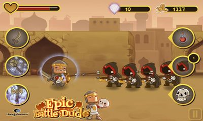 Screenshots do Epic Battle Dude - Perigoso para tablet e celular Android.