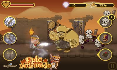 Jogue Epic Battle Dude para Android. Jogo Epic Battle Dude para download gratuito.