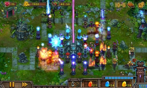 Screenshots von Epic defense: Origins für Android-Tablet, Smartphone.