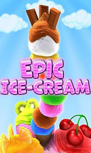 Epic ice cream poster
