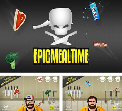 In addition to the game Chapayev for Android phones and tablets, you can also download Epic Meal Time for free.