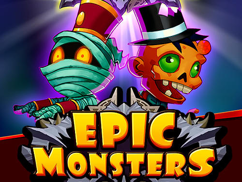 Epic monsters: Idle RPG poster
