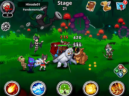 Juega a Epic monsters: Idle RPG para Android. Descarga gratuita del juego Monstruos épicos: RPG simple.
