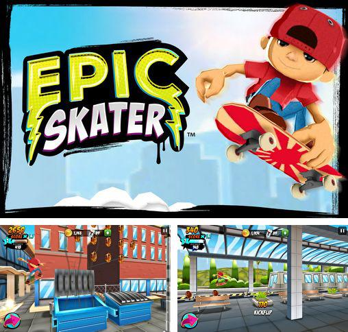 In addition to the game Punch Hero for Android phones and tablets, you can also download Epic skater for free.