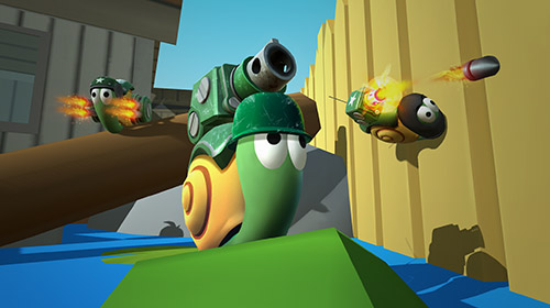 Screenshots von Epic snails für Android-Tablet, Smartphone.