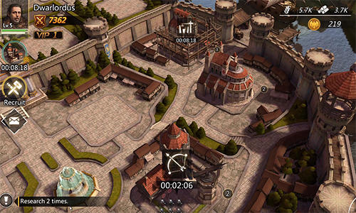 Screenshots von Era of empire: War and alliances für Android-Tablet, Smartphone.