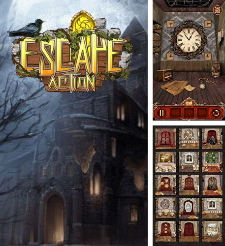 In addition to the game Escape room: Strange house for Android phones and tablets, you can also download Escape action for free.
