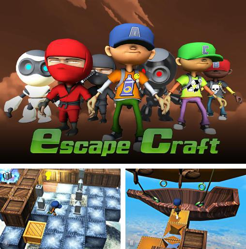 In addition to the game Splash pop for Android phones and tablets, you can also download Escape craft for free.