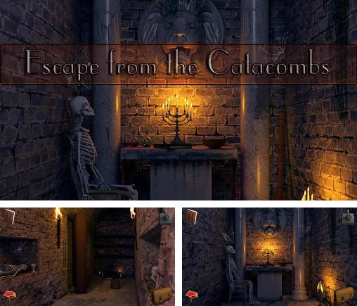 Alem do jogo O Secreto do Manor Escuro para telefones e tablets Android, voce tambem pode baixar Fuja das catacumbas, Escape from the catacombs gratuitamente.