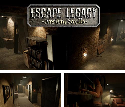 Escape legacy: Ancient scrolls VR 3D