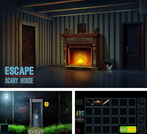 In addition to the game House of Fear - Escape for Android phones and tablets, you can also download Escape scary house for free.