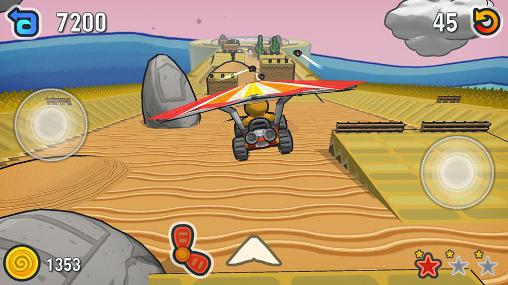 Screenshots von Escargot kart für Android-Tablet, Smartphone.