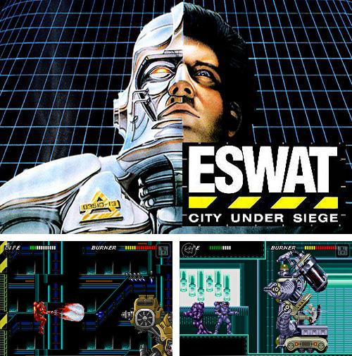In addition to the game Guns and wheels zombie for Android phones and tablets, you can also download ESWAT: City under siege classic for free.