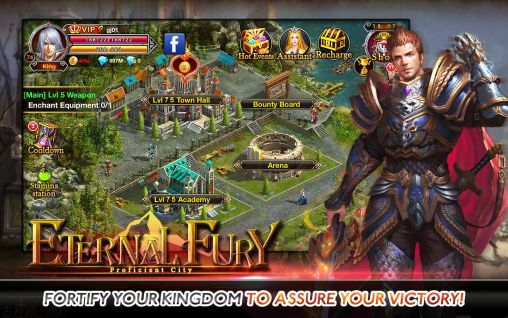 Jogue Eternal fury para Android. Jogo Eternal fury para download gratuito.