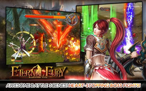 Screenshots do Eternal fury - Perigoso para tablet e celular Android.