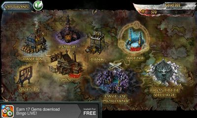 Screenshots von Eternity Warriors für Android-Tablet, Smartphone.
