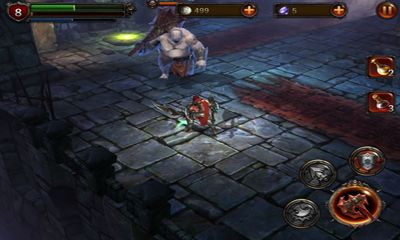 Геймплей Eternity Warriors 2 для Android телефону.