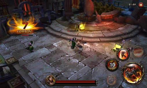 Screenshots von Eternity warriors 4 für Android-Tablet, Smartphone.