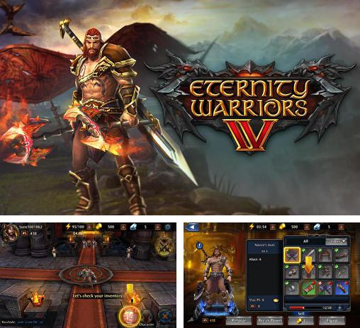 In addition to the game Eternity Warriors 2 for Android phones and tablets, you can also download Eternity warriors 4 for free.