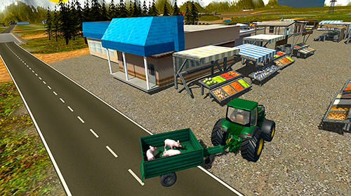 Screenshots von Euro farm simulator: Pigs für Android-Tablet, Smartphone.