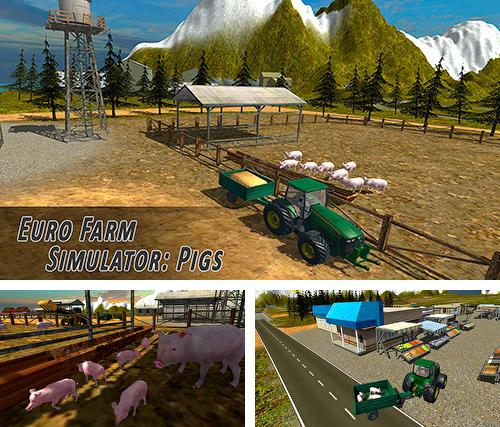 In addition to the game Farming simulator 2017 for Android phones and tablets, you can also download Euro farm simulator: Pigs for free.