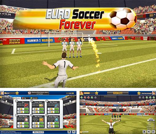 In addition to the game Euro soccer forever 2016 for Android, you can download other free Android games for Meizu M8c.