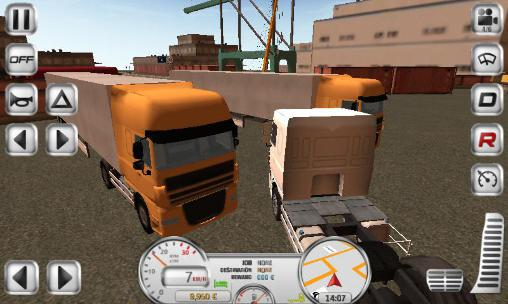 Download Euro truck driver Android free game.