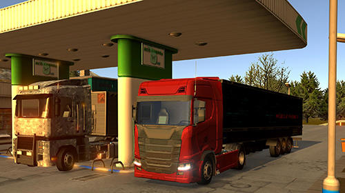 Screenshots do Euro truck driver 2018 - Perigoso para tablet e celular Android.