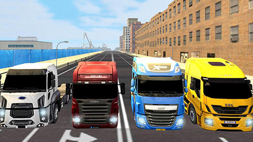 Screenshots von Euro truck simulator 2018: Truckers wanted für Android-Tablet, Smartphone.