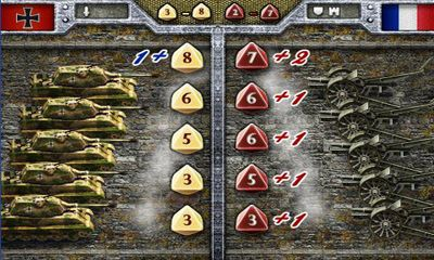Screenshots of the European War 2 for Android tablet, phone.