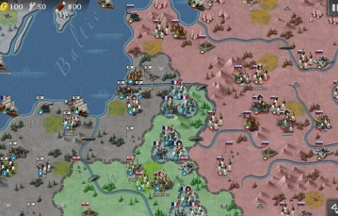 Screenshots von European war 4: Napoleon für Android-Tablet, Smartphone.
