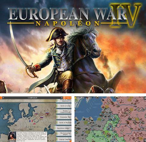 In addition to the game Strategy and tactics World War 2 for Android phones and tablets, you can also download European war 4: Napoleon for free.
