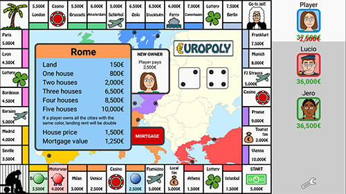 Europoly screenshot 1