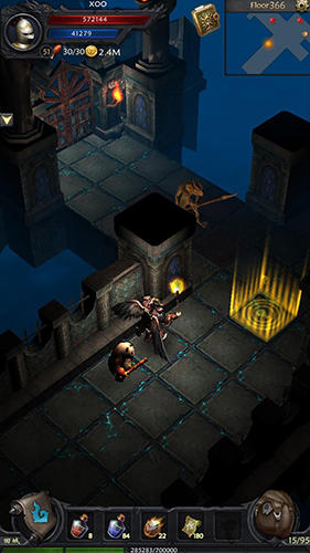 Screenshots von Ever dungeons: Hunter king für Android-Tablet, Smartphone.