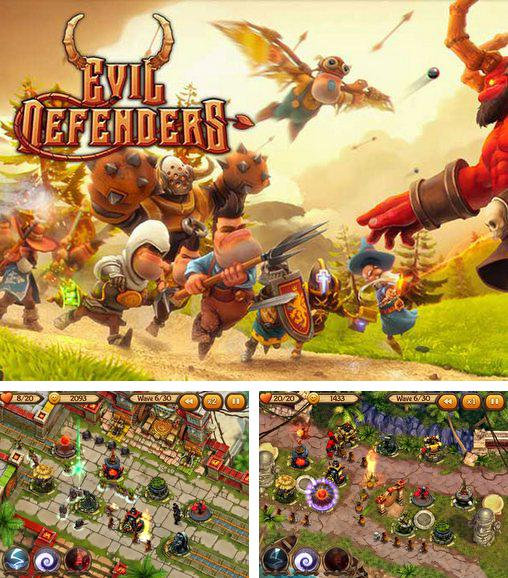 In addition to the game Fieldrunners 2 for Android phones and tablets, you can also download Evil defenders for free.