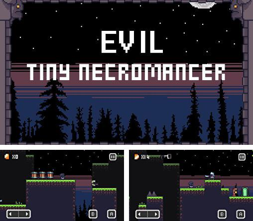 Evil tiny necromancer
