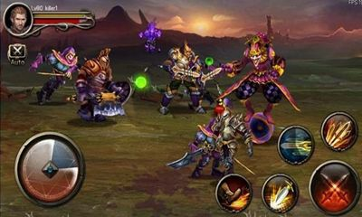 Screenshots do Excalibur - Perigoso para tablet e celular Android.