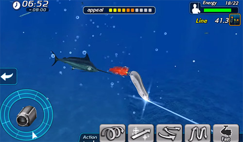 Screenshots von Excite big fishing 3 für Android-Tablet, Smartphone.